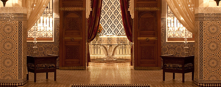 Royal Mansour Marrakech - Tadelakts et zelliges