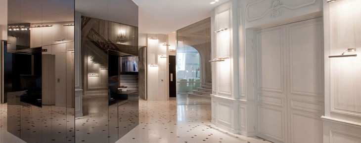la maison champs elys es paris informations r servation inside luxury hotels. Black Bedroom Furniture Sets. Home Design Ideas