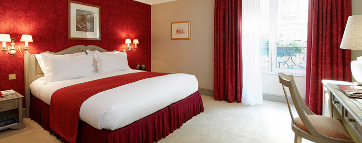 Le castille paris informations r servation inside luxury hotels for Chambre bebe beige et rouge