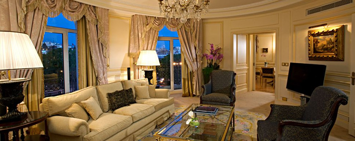 The Westin Palace Madrid - Salon d'une suite