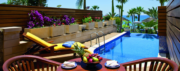 Amathus beach hotel limassol informations r servation for Hotel piscine privee