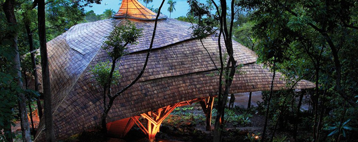 Soneva Kiri by Six Senses - Toiture de The Den