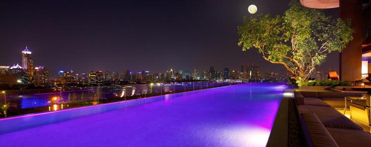 piscine débordement bangkok