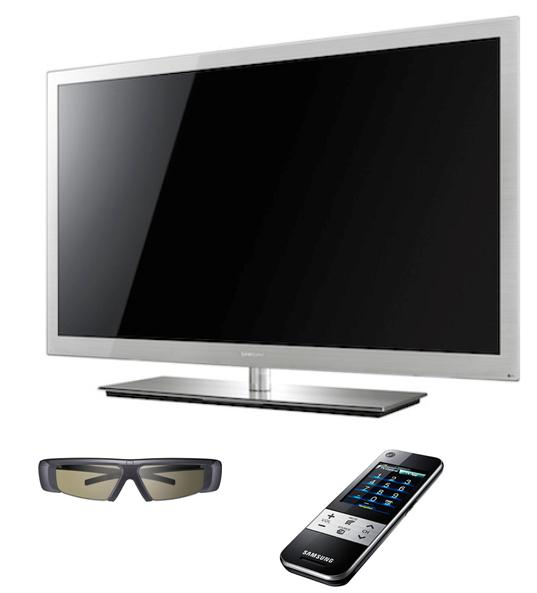 la c9000 led tv de samsung et son allure prestigieuse. Black Bedroom Furniture Sets. Home Design Ideas