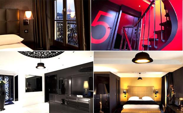 first hotel original et contemporain. Black Bedroom Furniture Sets. Home Design Ideas