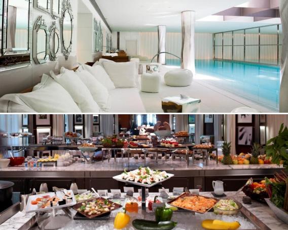 Cadeau pur luxe au royal monceau for Restaurant la cuisine royal monceau