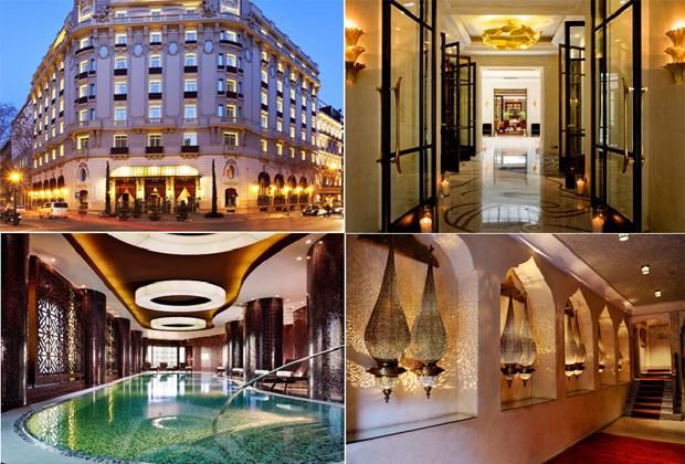 H tel de luxe dans le monde for Hotel dans le monde