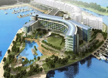 W singapour ouvrira en ao t 2012 for Hotel singapour piscine