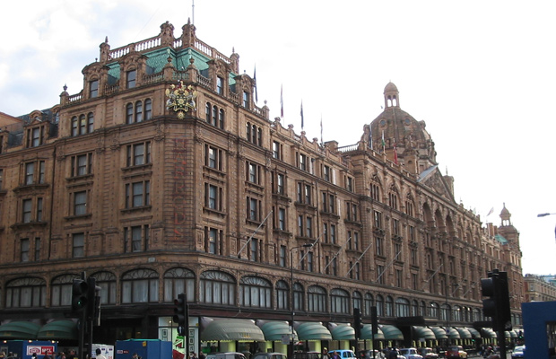 magasin londonien Harrod's